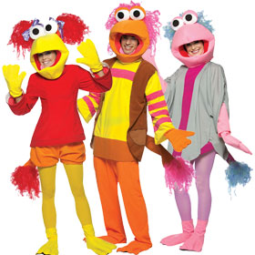 fraggle rock costumes - Fraggle Rock Halloween Costumes