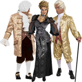 French Aristocrat Costumes