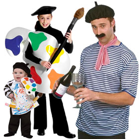 French Artist Costumes