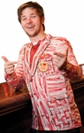 "Funny Costume ""Bacon"" Suit Jacket"