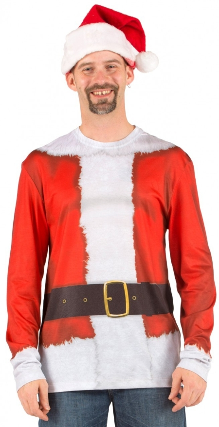Funny Santa Clause Costume T-Shirt