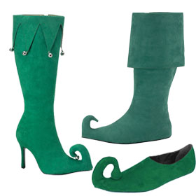 Green Elf Shoes