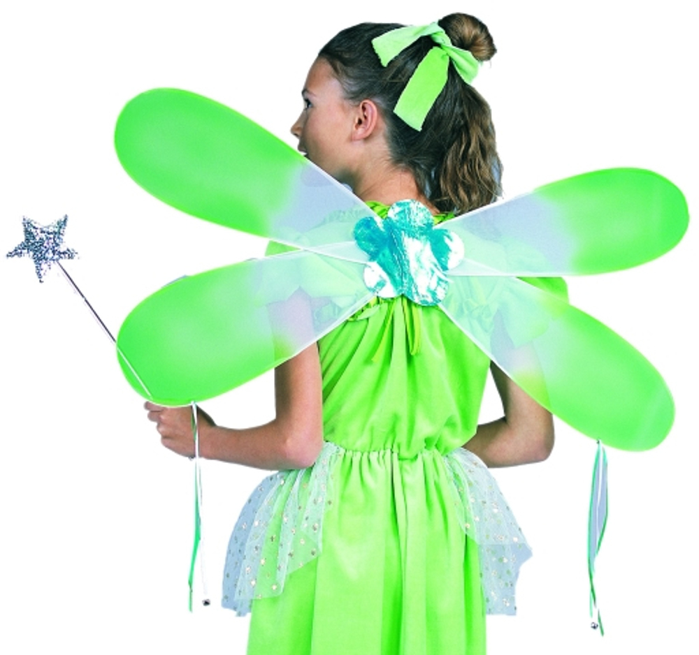 "Green Fairy Wings (Size: Adult 29"" X12"")"