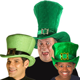 Green Mad Hatter Hats