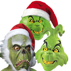 Grinch Masks