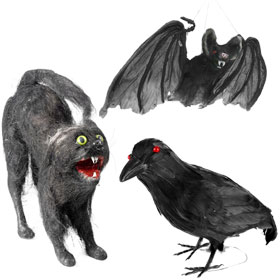 Halloween Animal Props