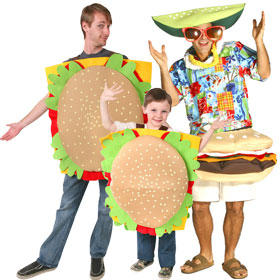 Hamburger Costumes
