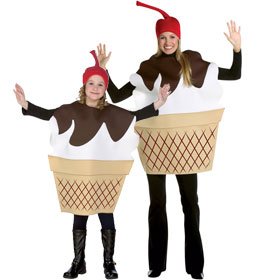 Ice Cream Sundae Costumes