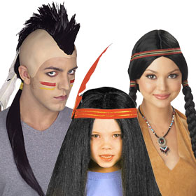 Indian Wigs