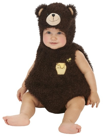 Infant Bear Romper Costume