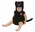 Infant Black Cat Romper Costume