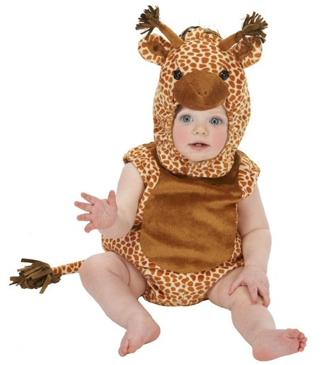Infant Giraffe Romper Costume