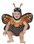 Infant Monarch Butterfly Romper Costume