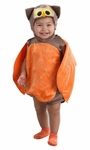 Infant Orange Owl Romper Costume