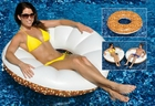 Inflatable Everything Bagel Float