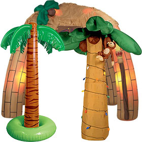 Inflatable Luau Party Decorations
