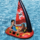 Inflatable Pirate Kids Boat with Sail