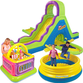 Inflatable Play Structures