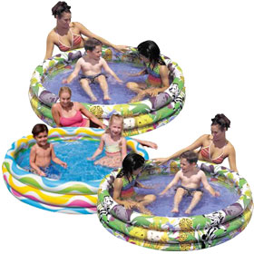 Inflatable Round Kiddie Swimming Pools