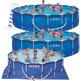 Intex Frame Set Pools