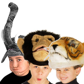 Jungle Animal Hats