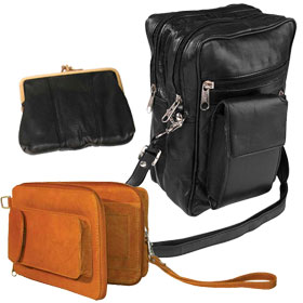 Leather Purses & Pouches