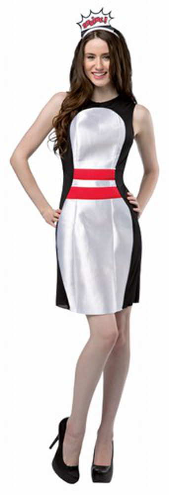 Let's Bowl Pin Dress Costume