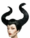 Maleficent Horned Wig