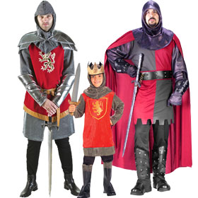Medieval Knight Costumes