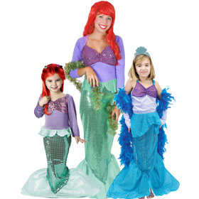 Songful Mermaid Costumes