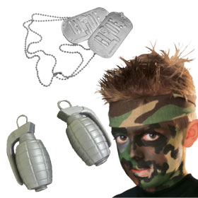 Military Costume Accessories