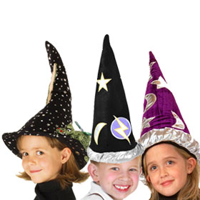 Moons and Stars Wizard Hats