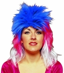 Multi Colored Punk Wig