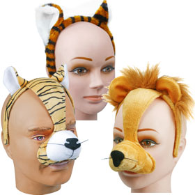 Orange Animal Headbands