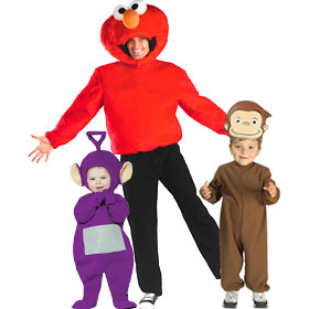 PBS Cartoon Costumes