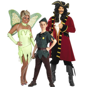 Peter Pan Character Costumes