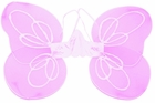 "Pink Chiffon Angel Wings (Size: Child 20"" X 14"")"