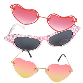 Pink Costume Glasses