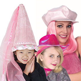 Pink Costume Hats