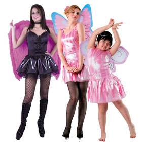 Pink Costume Wings