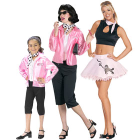 Pink Ladies Costumes