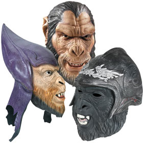 Planet of the Apes Costume Masks