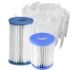Pool Filter Cartridges & D.E. Grids