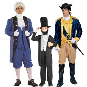 Presidents Day Costumes
