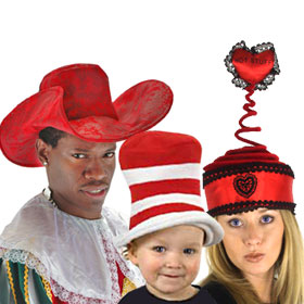Red Costume Hats