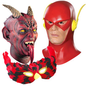Red Costume Masks
