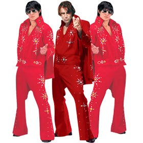 Red Elvis Costumes