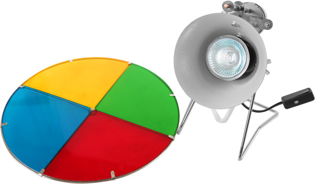 Revolving Color Wheel