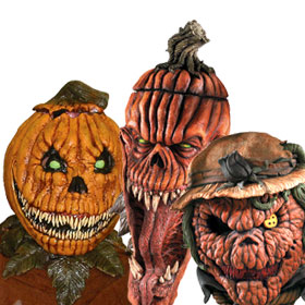 scary pumpkin masks - Scary Halloween Masks Images