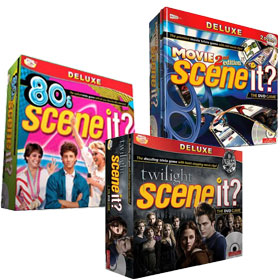 Scene It DVD Games